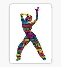 Zumba Girl  Sticker