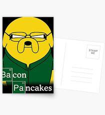 Bacon Pancakes Postcards