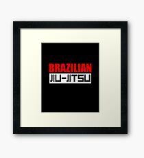 Brazilian Jiu-Jitsu Framed Print