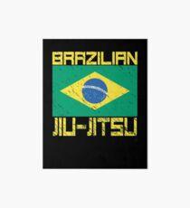 Brazilian Jiu-Jitsu Art Board