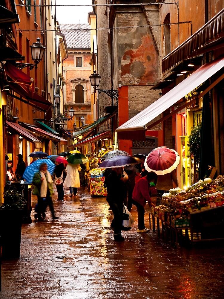 Shopping in the Rain by Rae Tucker