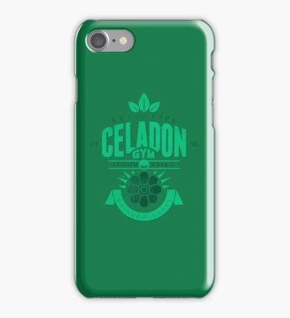 Celadon Gym iPhone Case/Skin