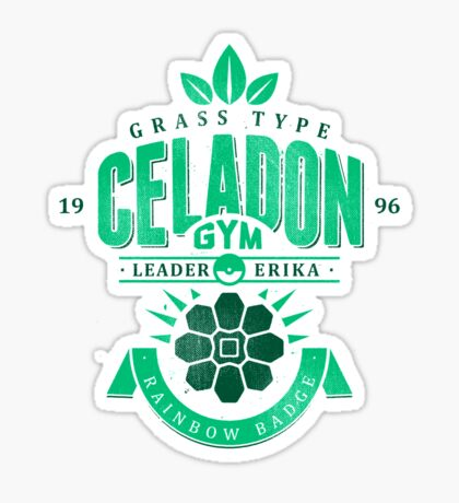 Celadon Gym Sticker