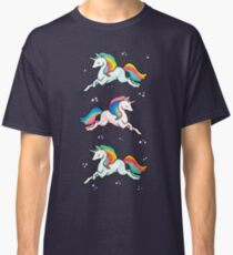 Rainbow Unicorns  Classic T-Shirt