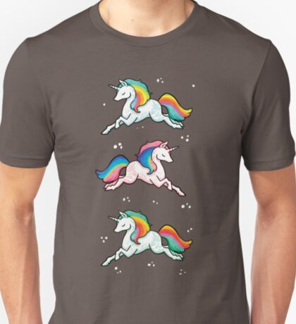 Rainbow Unicorns  T-Shirt