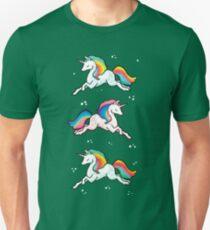 Rainbow Unicorns  Unisex T-Shirt