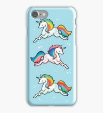 Rainbow Unicorns  iPhone Case/Skin