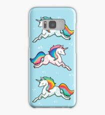 Rainbow Unicorns  Samsung Galaxy Case/Skin