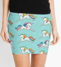 Rainbow Unicorns  Mini Skirt