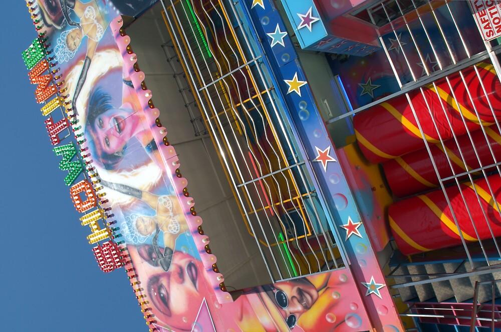 showtime fairground by Graham  Banks