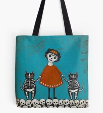 Frida and Cats Tote Bag