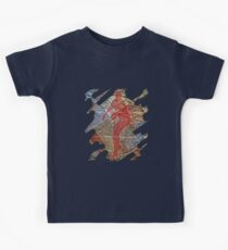 STRIKE THREE - BASEBALL PITCHER Kids T-Shirt