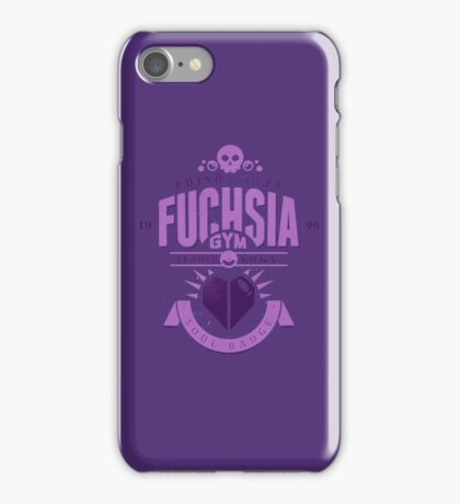 Fuchsia Gym iPhone Case/Skin