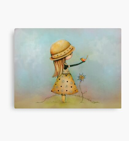 summer days are golden Canvas Print