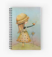 summer days are golden Spiral Notebook