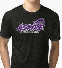 Launceston Aspire Paintball Team - Location Tri-blend T-Shirt