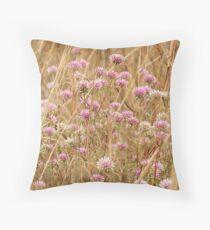 Batchelors Buttons wildflowers Throw Pillow