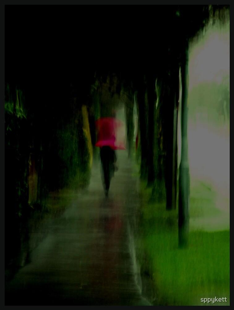 red umbrella by sppykett