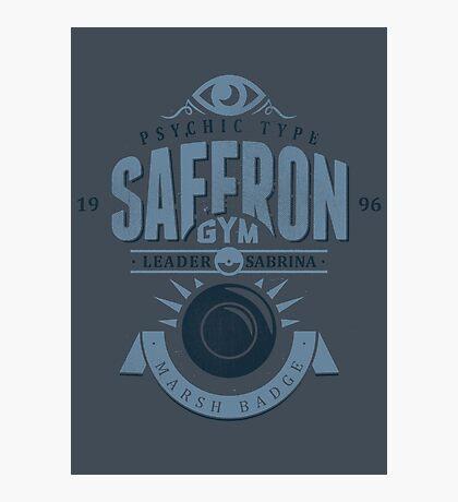 Saffron Gym Photographic Print