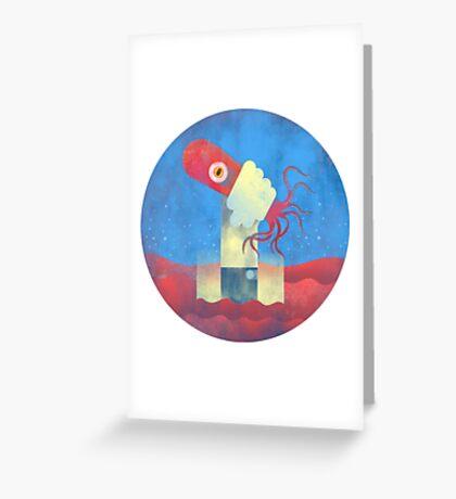 Octopus Wrangler Greeting Card