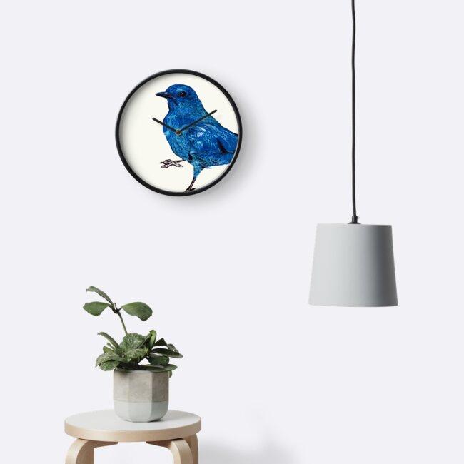 Blue Bird by paulapaints