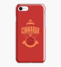 Cinnabar Gym iPhone Case/Skin