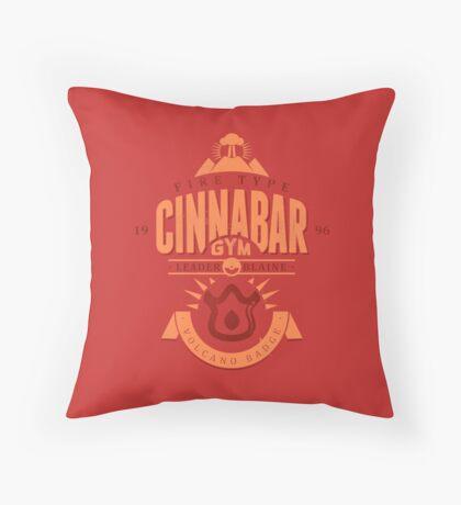 Cinnabar Gym Throw Pillow
