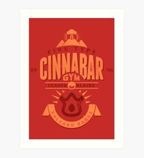 Cinnabar Gym Art Print