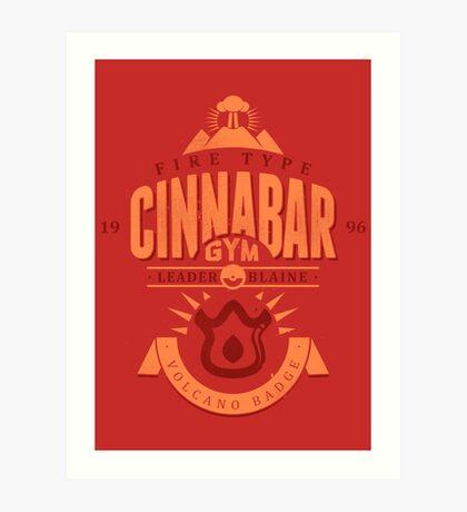 Cinnabar Gym Art Print