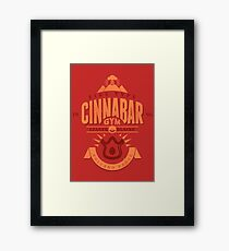 Cinnabar Gym Framed Print