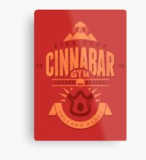 Cinnabar Gym Metal Print