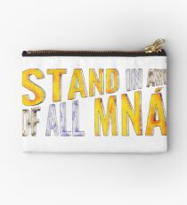 """Stand In Awe Of All Mna"" Studio Pouch"