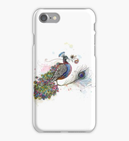 Royale Paisley Peacock iPhone Case/Skin