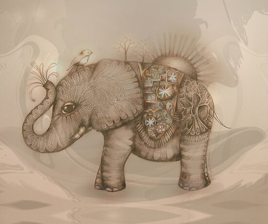 Magic Elephant by Karin Taylor
