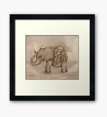 Magic Elephant Framed Print