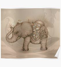 Magic Elephant Poster
