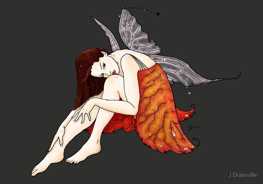 The Red Faerie by Jacquelyne Drainville