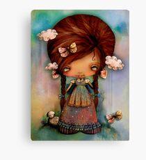 Little Shepherd Girl Canvas Print