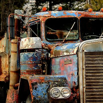 Old Truckers Never Die by NaturePrints