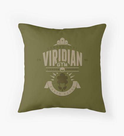 Viridian Gym Throw Pillow