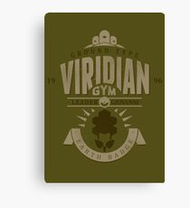Viridian Gym Canvas Print