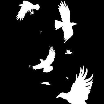 A Murder of Crows Redux by omnibob8