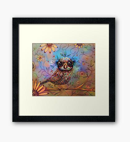 little love bird Framed Print