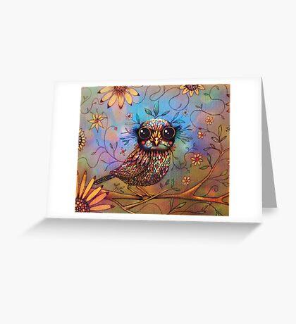 little love bird Greeting Card