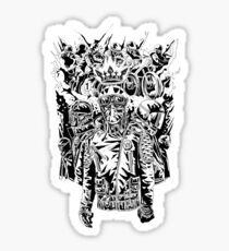 The King of the Café Racers Sticker