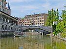Cruising on the Ljubljana by Graeme  Hyde