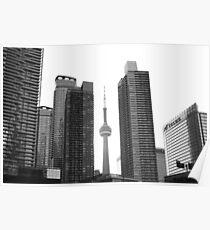 Toronto Hochhäuser Poster