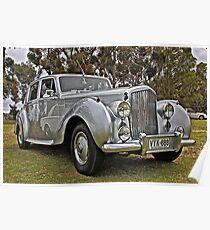 Bentley at Cars Rock Poster