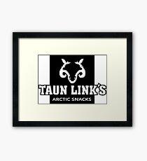 Taunlinks Arctic Snacks Framed Print