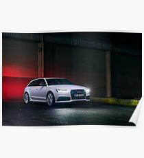 Audi RS6 Poster